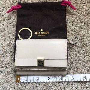 Kate Spade Bi-fold mini bow wallet